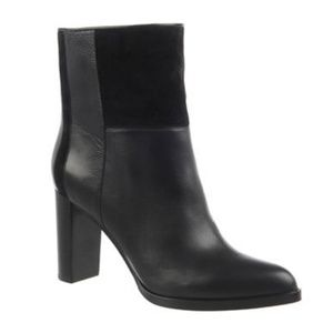 New DVF Jericho Ankle Boots Black 8.5